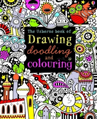 Usborne Drawing, Doodling, colouring