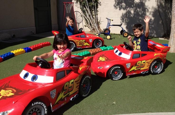Disneyland Resort Donates Lightning McQueen Power Wheels to Local Nonprofits