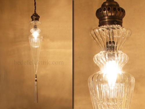 Osmanlı Üfleme Cam Sarkıt #ottoman #osmanli #lighting #aydinlatma