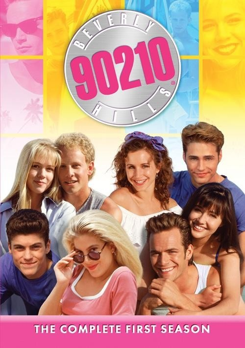 Beverly Hills 90210 series from the past