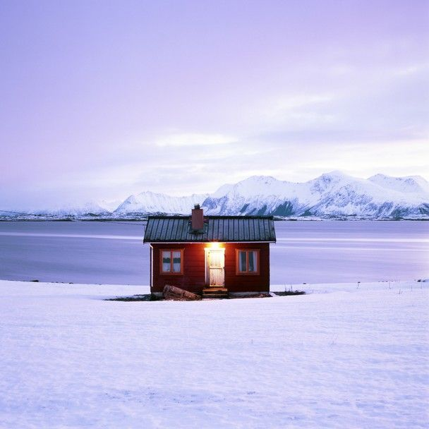 Winter Cottage - Nordland, Norway