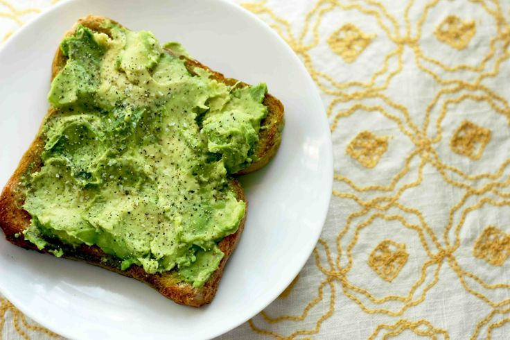 EAT DRINK PRETTY: Avocado toast