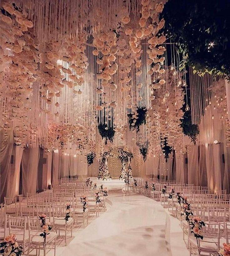 """11k Likes, 48 Comments - Indianstreetfashion (@indianstreetfashion) on Instagram: """"Enchanted ceiling kinda wedding set .. we are on board @extravagantlifeinc #weddingdecorideas"""""""