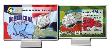 Mexico 2013 World Baseball Classic Silver Coin Card