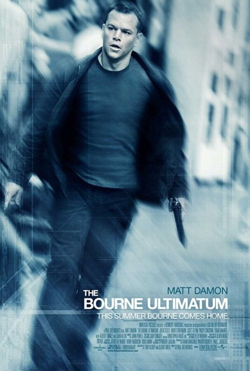 Movie Posters - Movie Posters : The Bourne Ultimatum (2007) dir. Paul Greengrass  Movie Posters  :    The Bourne Ultimatum (2007) dir. Paul Greengrass