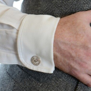 Give your laddie a wee bit of Scottish history to wear with his tweed. BAWBEE COIN CUFFLINKS - sterling silver £135.