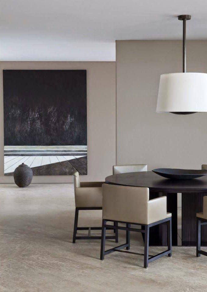 LEEM Concepts: Woonstyling, advies en concepten: Binnenkijken in een heuse Minotti villa in San Paolo, Italië