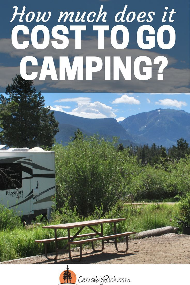 How much does it cost to go camping?   Check out our week long vacation to…