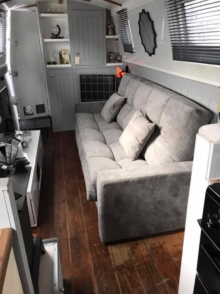 Remarkable Stylish 3 Seat Sofa Bed Made For Small Spaces Narrowboat Uwap Interior Chair Design Uwaporg