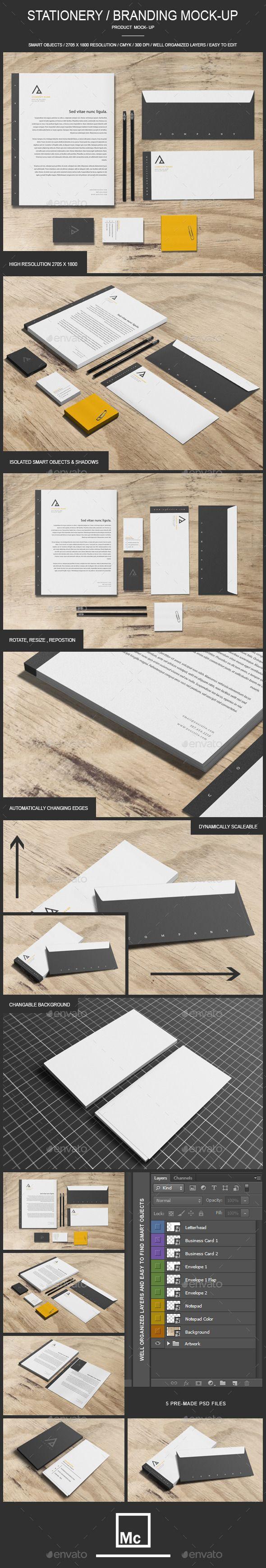 Stationery / Branding - Mock-Up (Stationery)