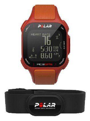 Gps Polar Rc3 Gps Red orange Hr -