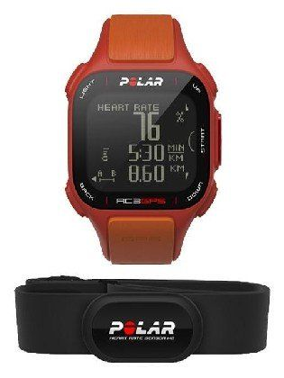 Gps Polar Rc3 Gps Red orange Hr -