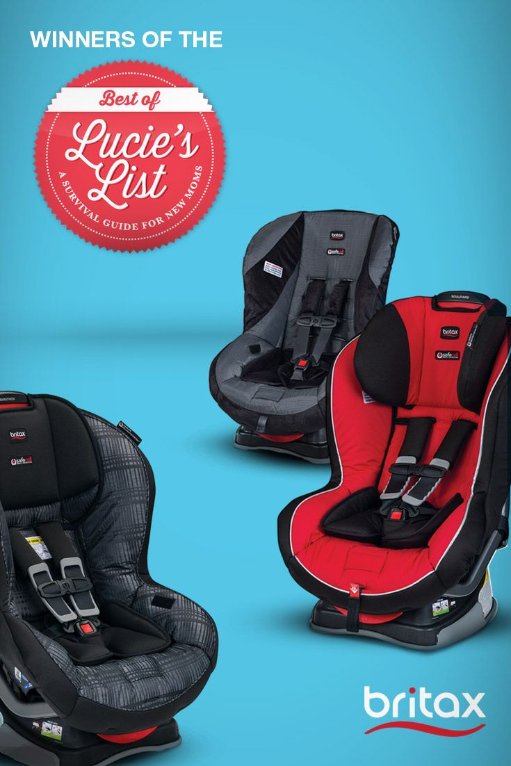We re proud to announce that lucie s list a survival guide for new moms added our convertible car seats to their best of lucie s list