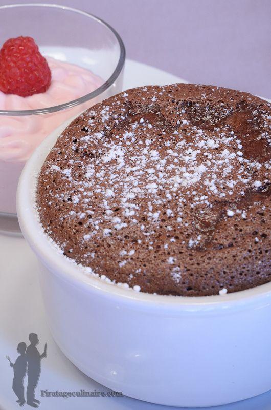 soufflé au chocolat | Desserts | Pinterest