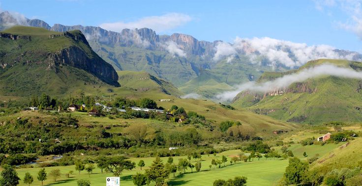 Cathedral Peak Hotel, Drakensberg; stunning scenery and place to stay for a break or wedding!
