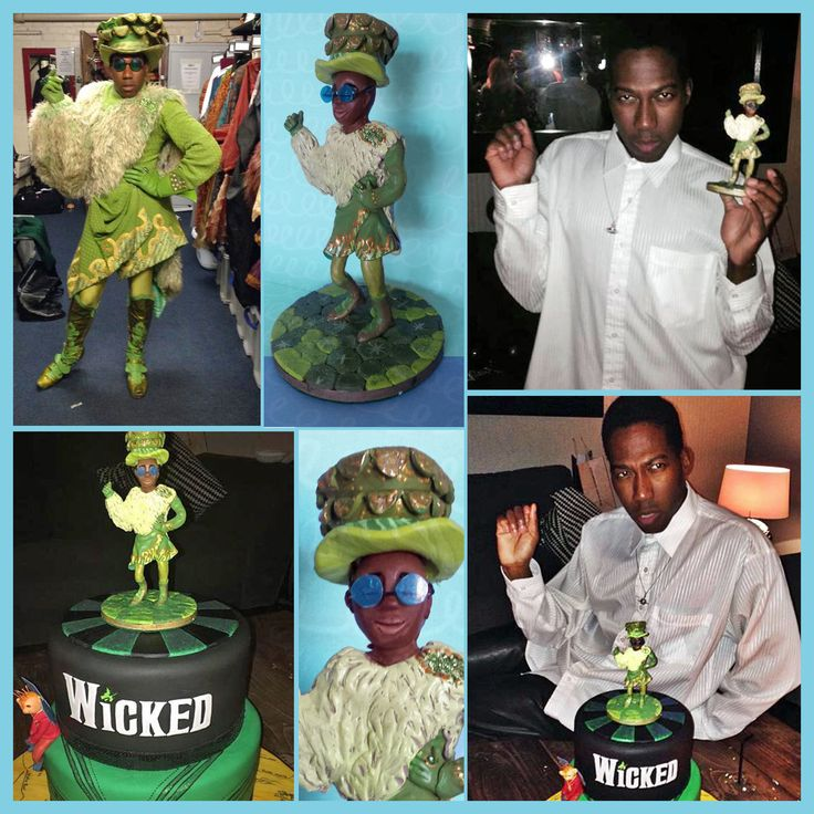 Wicked The Musical Cake Toppers