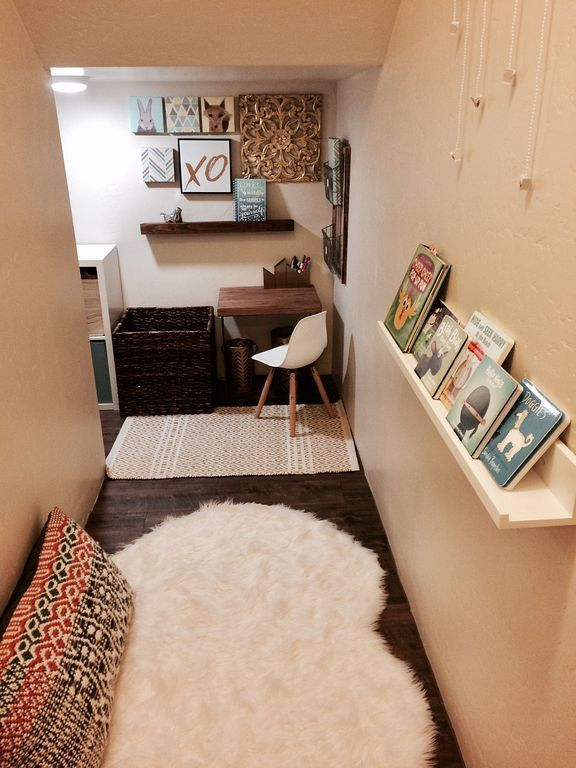 30 Small Kids Playroom Design Ideas Under Stairs Stair Nook