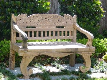 Eclectic Outdoor Benches: Find Patio and Garden Bench Designs Online