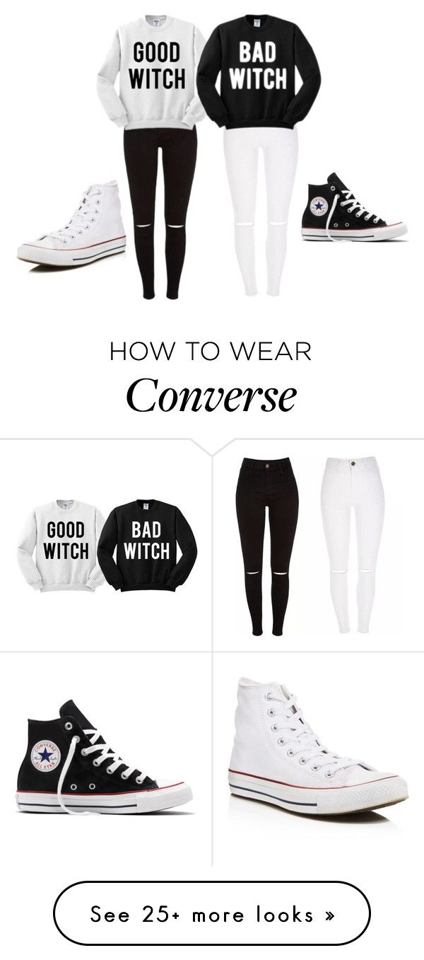 """""""Good Or Bad?!"""" by stefthedonutqueen on Polyvore featuring Converse"""