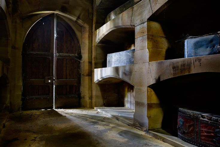 Creak Photo of the Abandoned Crypt of Barons Crypt
