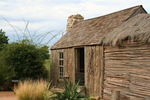 1904 ranch home relocated from Del Rio, TX, made from the stalks of the yucca-like plant, the sotol. - See more at: http://chambersarchitects.com/blog/11-ranching/33-early-texas-ranch-homes-their-preservation-and-restoration.html#sthash.NBFF4kXs.dpuf