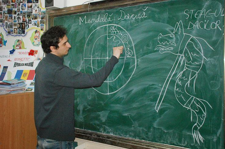 """legendeledacilor: Atelier """"Mandale Dacice"""" la Scoala Altfel"""