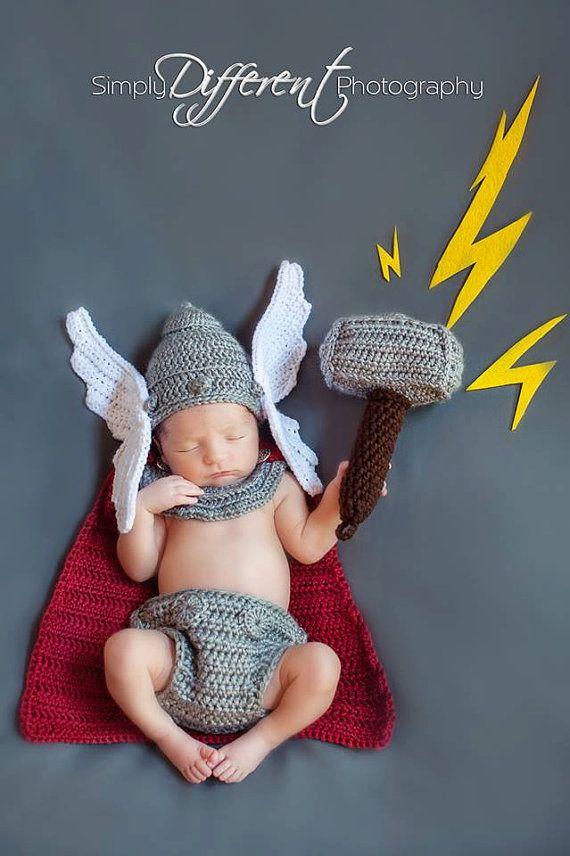 PATRÓN Descarga inmediata del recién nacido dios nórdico de por BrianaKcrochet