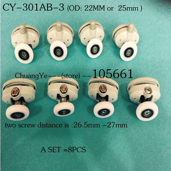 (A SET of  8pcs )Nylon shower door roller CY-301AB-3 #jewelry, #women, #men, #hats, #watches