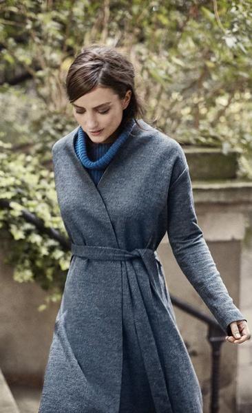 SASA Poly Wool Coat