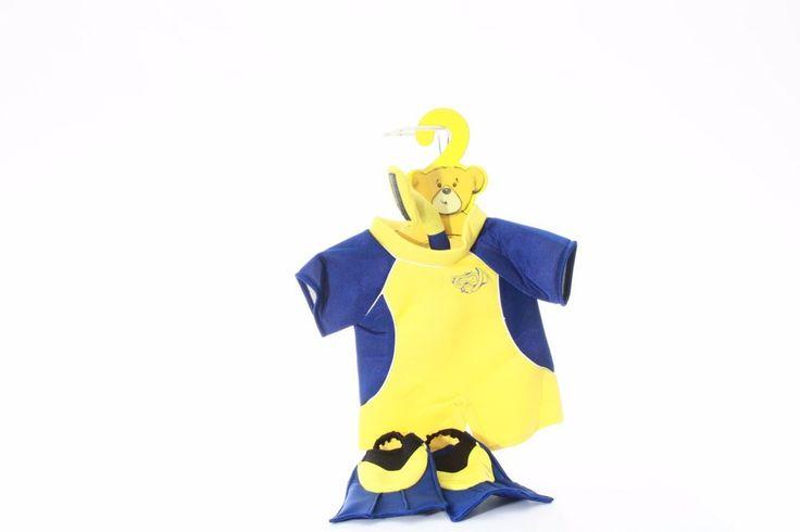 Build-a-Bear Clothes costume Scuba snorkel swim gear surfing ocean outfit #BuildABearWorkshop #Birthday