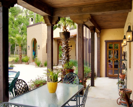 283 best mexican,spanish,santa fe style images on pinterest ... - Spanish Style Patio Ideas