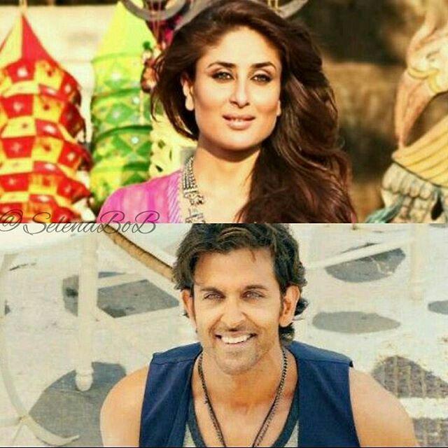 Hrithik roshan & kareena kapoor  #hrithikroshan #kareenakapoorkhan #kareenakapoor #karinakapoor #bollywood #dance #selenabobdesign