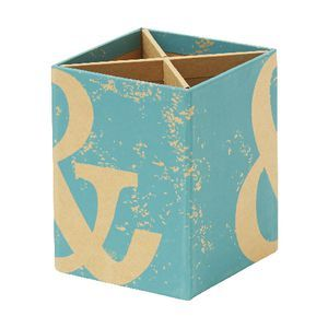 $6.95, View more details for GO Stationery Kraft Pen Cup Teal