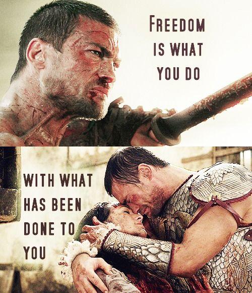 25 best spartacus quotes on pinterest spartacus
