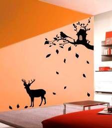 Buy Deer under tree wall decals wall-decal online