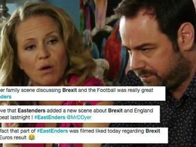 Lord Haw Haw of Britain the BBC PROPAGANDA machine in full view EASTENDERS fasts were very impressed by tonight's edition of the BBC soap, which saw the Carter family share their opinions on being booted out of both the European Union and Euro 2016.