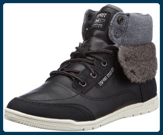 ESPRIT Randy Bootie H13110, Damen Fashion Sneakers, Schwarz (black 001), EU 37 - Stiefel für frauen (*Partner-Link)
