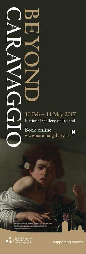 'Boy Bitten by a Lizard' Caravaggio  'Beyond Caravaggio' at the National Gallery of Ireland.  #civicmedia2017