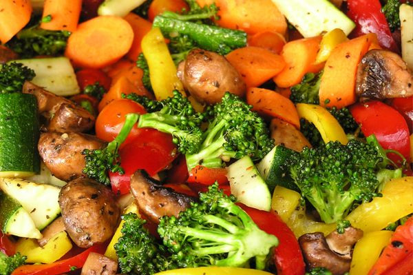 Aumente el Consumo de Vegetales