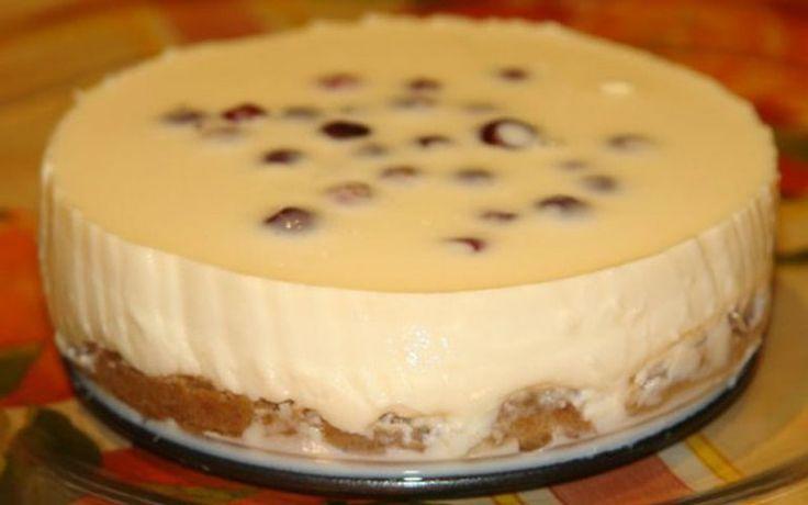 Восхитительный десерт! Все подруги уже записали рецепт… Чизкейк со сгущенкой без в