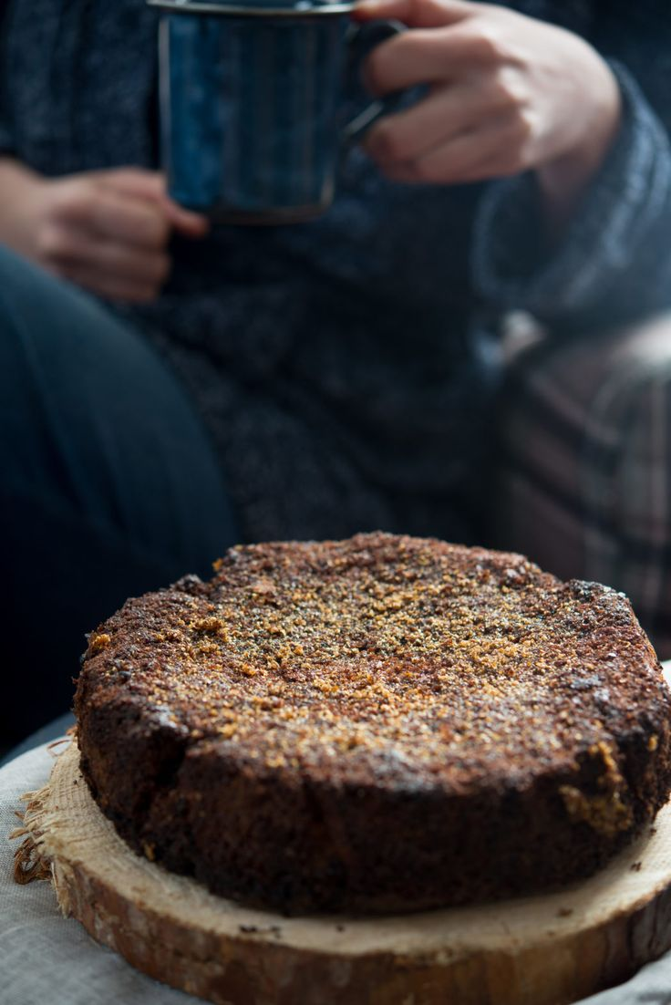 Great honey coriander cake, so delicious!