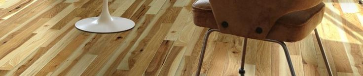 Love these hickory wood floors