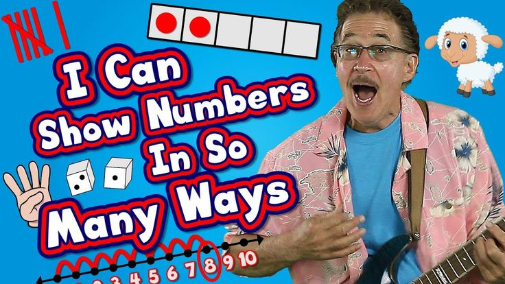I Can Show Numbers In So Many Ways | Math Song for Kids | How to Represe...