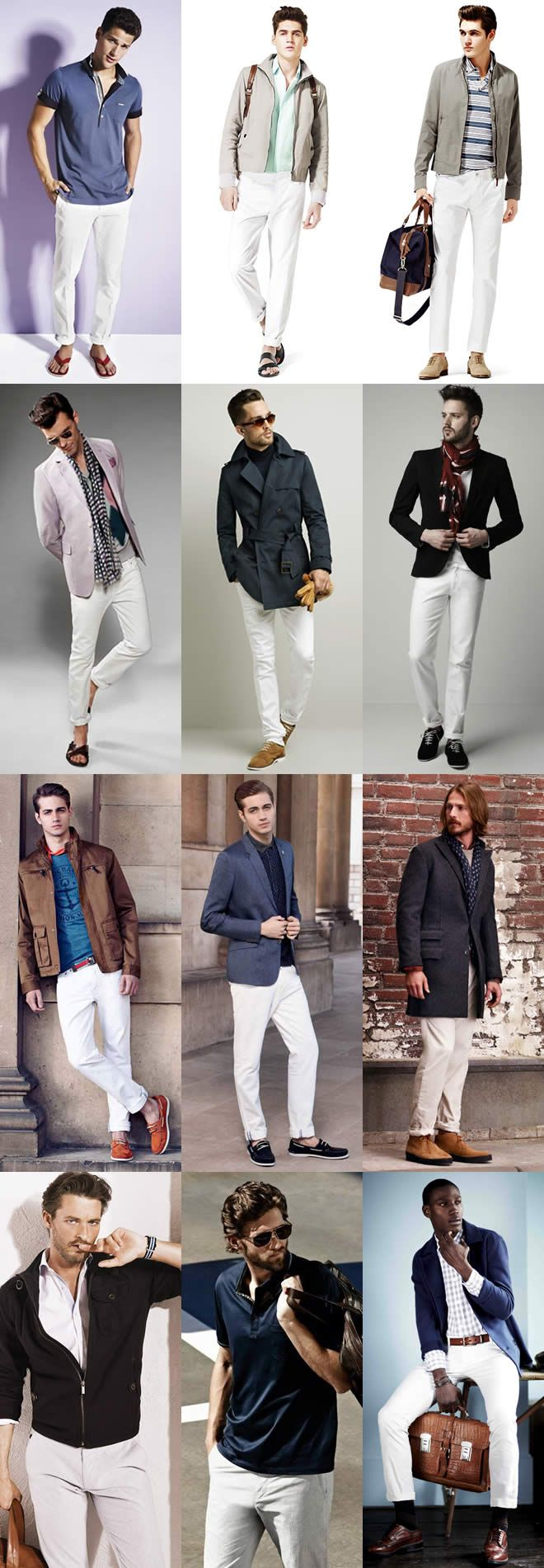 a lot of my gay friends are going for that white denim look. Trying to find something