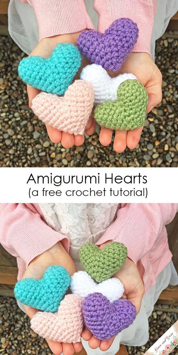 Heart Amigurumi - Free Crochet Pattern - StringyDingDing   1194x600