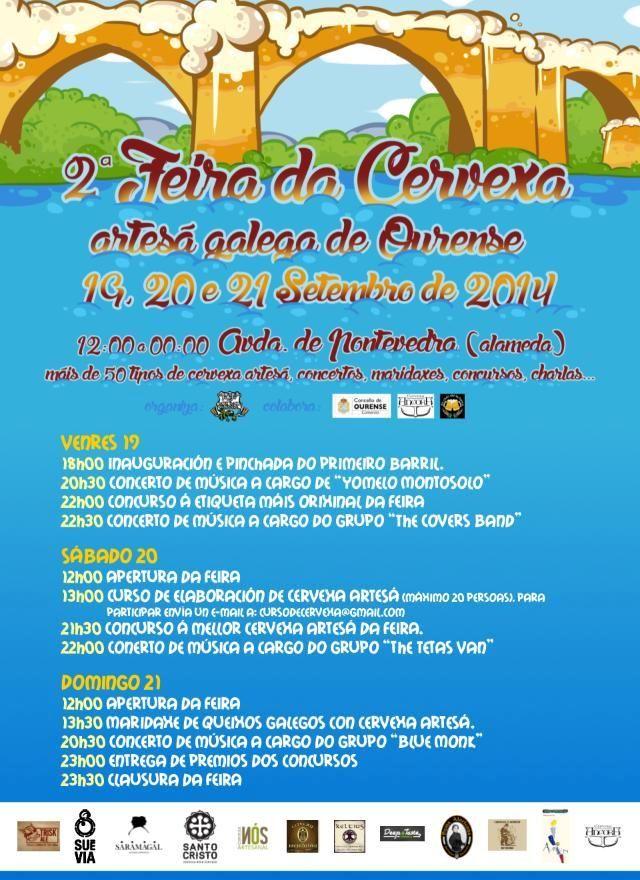 Feria de la cerveza artesana 2014 de Ourense