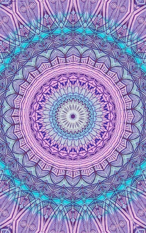 Mandala púrpura | Iphone wallpapers | Pinterest | Wallpaper