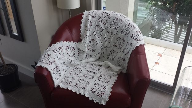 Cotton Christening Blanket