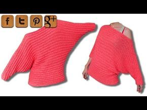 Valentine sweater crochet tutorial - © Woolpedia - YouTube