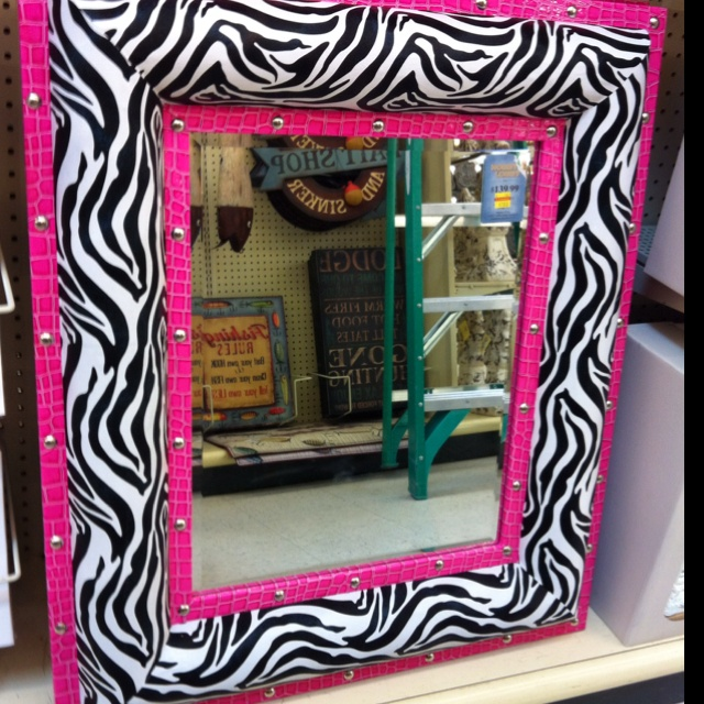 Zebra Mirror At Hobby Lobby Dream Home ♡ Pinterest